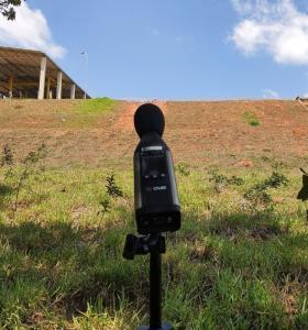 Laudo de avaliação de ruído ambiental