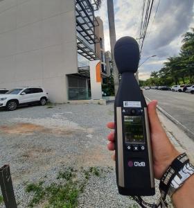 Medição de ruído externo