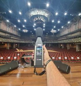 Projeto acústico auditorio
