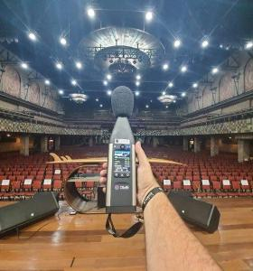 Projeto acústico teatro