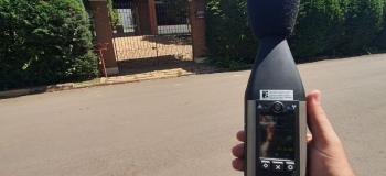 Análise de ruído ambiental