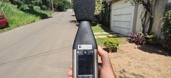 Laudo de avaliação de ruído externo