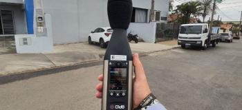 Laudo de medição de ruído