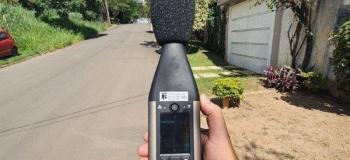 Laudo de ruído externo nbr 10151