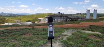 Medição de vibração de solo